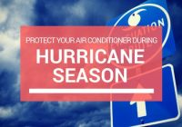Protect your AC unit during hurricane season in Boca Raton.