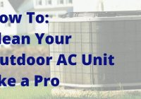 How to clean your outdoor AC unit in Florida.