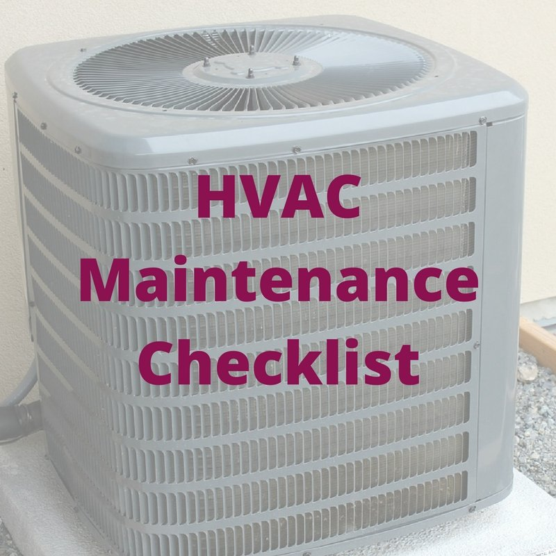 South Florida HVAC Maintenance Checklist