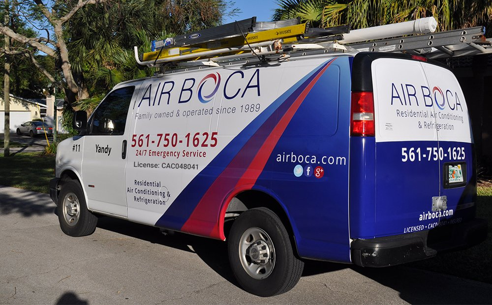 air boca van on street