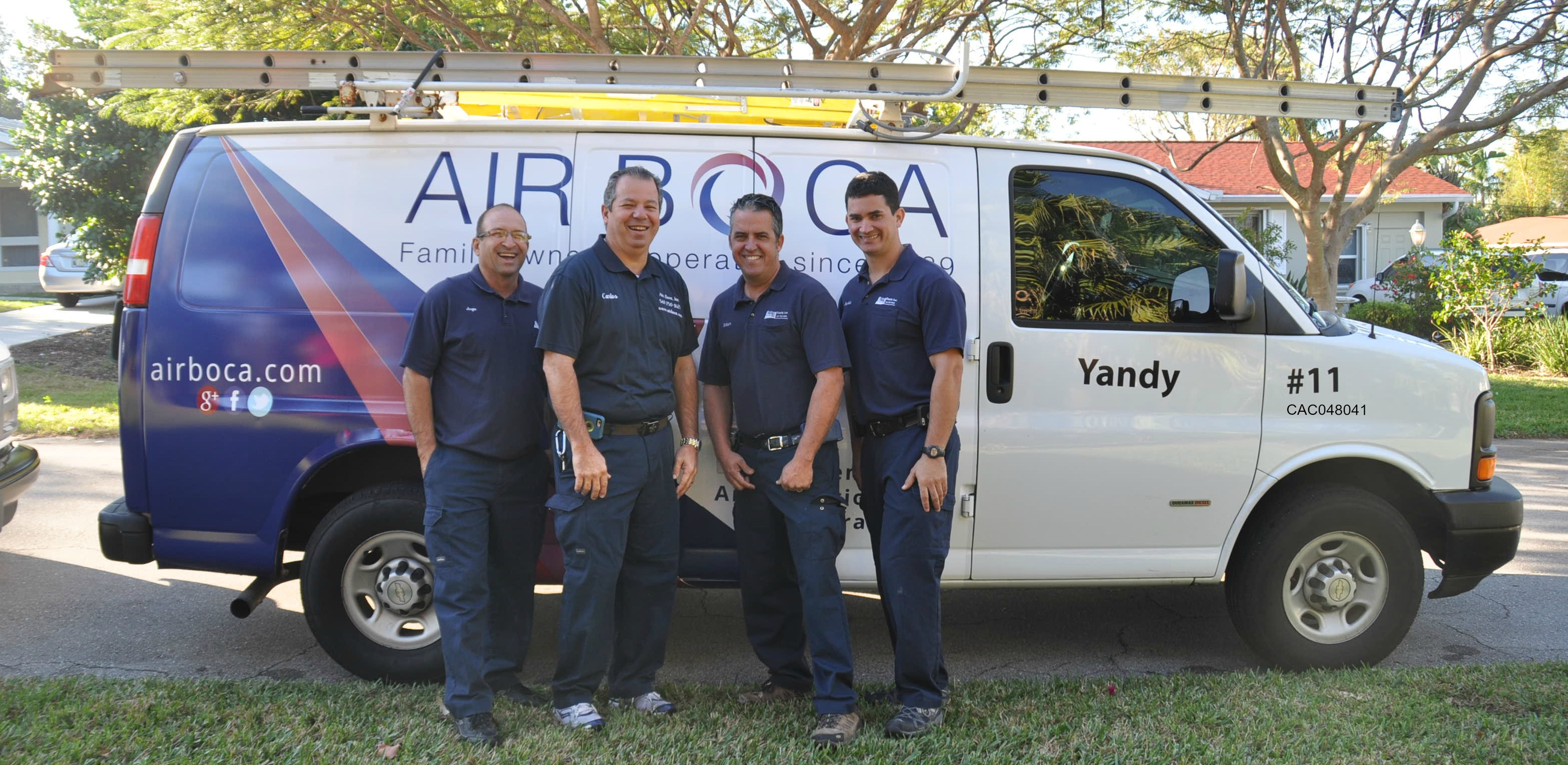 Air Boca AC and heating repair in Boca Raton Florida.