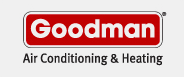 goodman air conditioning company logo.