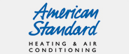 american standard heating and air conditioning company logo.