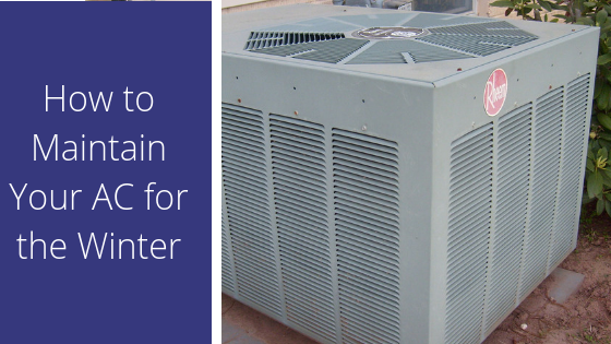 How to care for your AC during the winter in Florida.